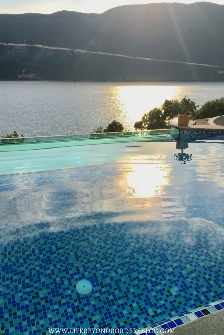 Infinity pool at Sappho Boutique Suites - Lefkada - Greece