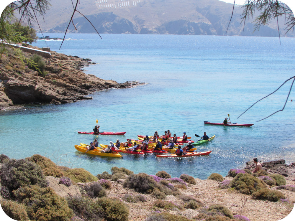Sea Kayaking in Mykonos - Greece. Life Beyond Borders