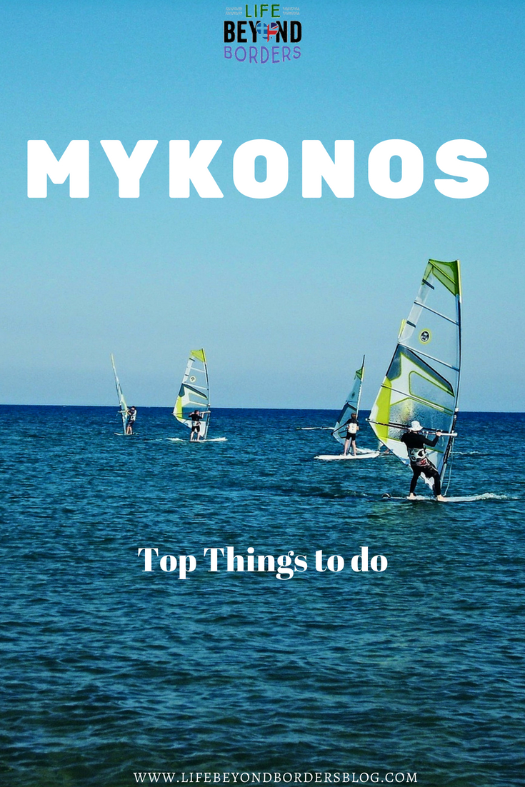 Top Things to do in Mykonos - Windsurfing - LifeBeyondBorders