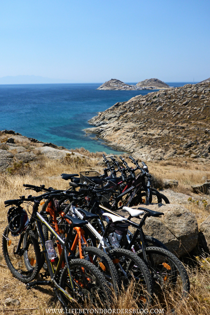 Top Things to do in Mykonos - Yummy Peddles tour - LifeBeyondBorders