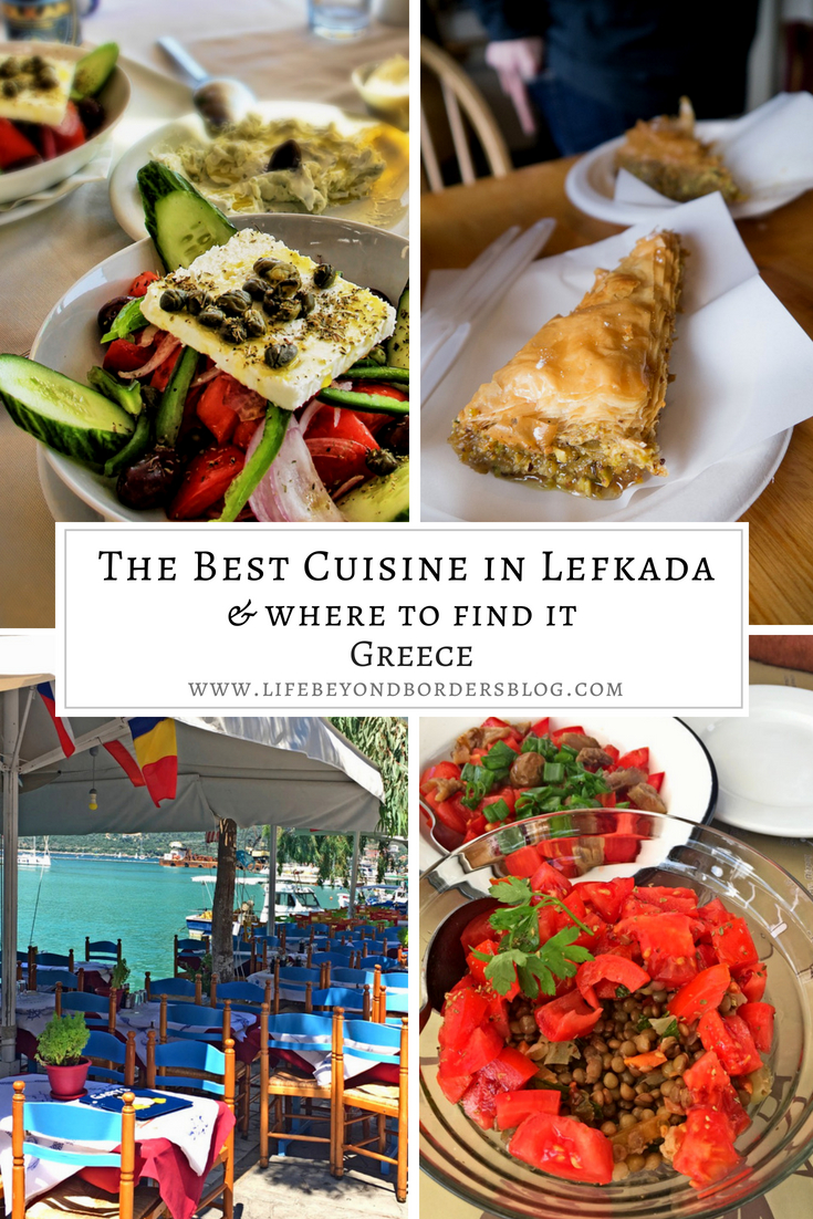 The Best Cuisine of Lefkada island, Greece