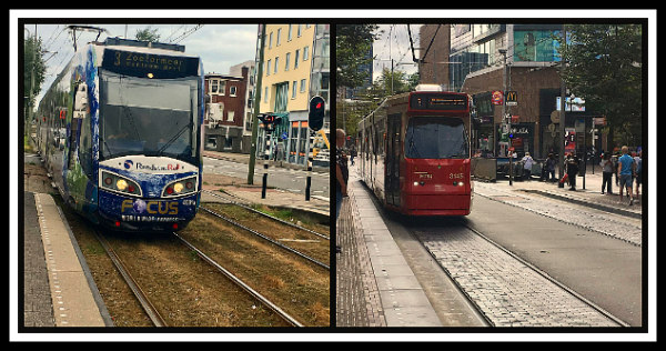 Trams of The Hague, Netherlands - great public transport