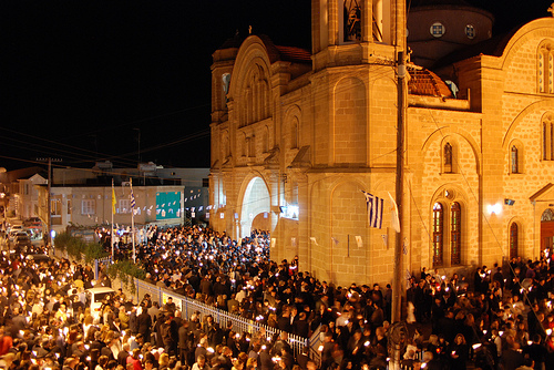 greek orthodox easter photo