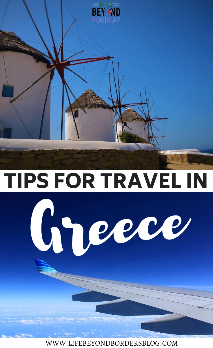 Advice and tips for travelling in Greece