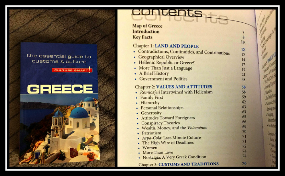 Culture Smart pocket size Guide book to Greece - LifeBeyondBorders