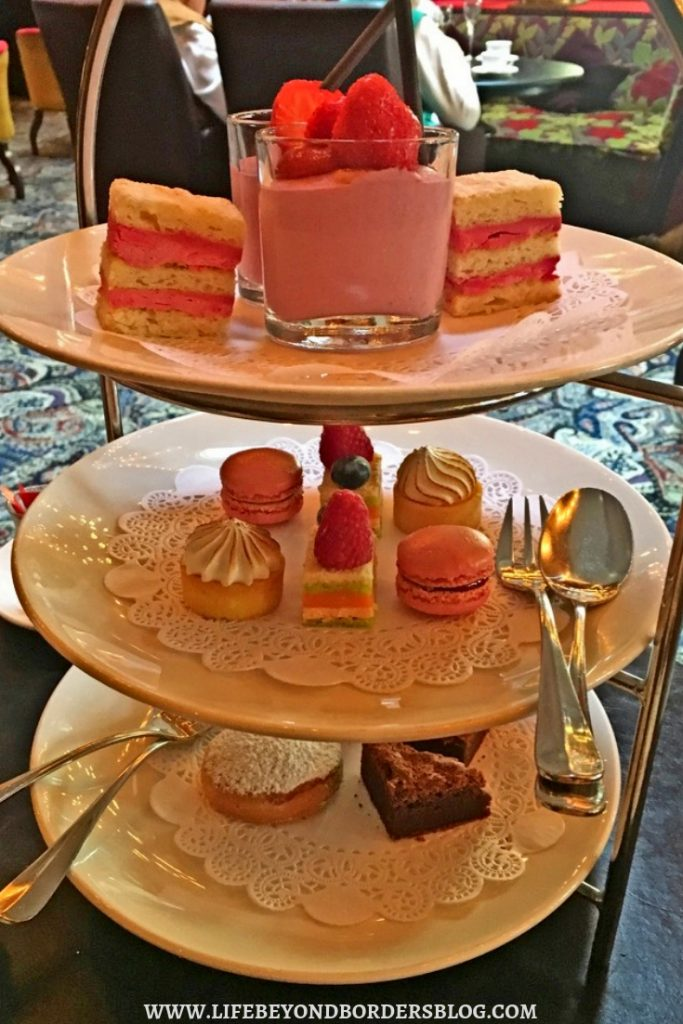 High Tea Dessert at Hotel Des Indes - Best Places to Eat in The Hague, Netherlands