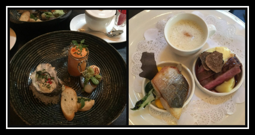 Savoury dishes of High Tea at Hotel Des Indes - The Hague - Netherlands