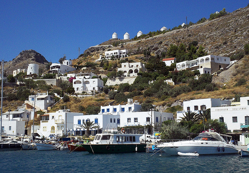 sailing greek islands photo