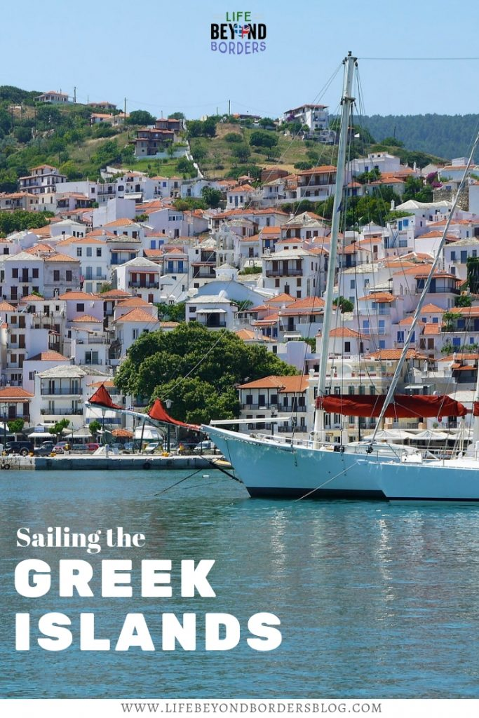 Come and explore the Greek islands by sailing around them