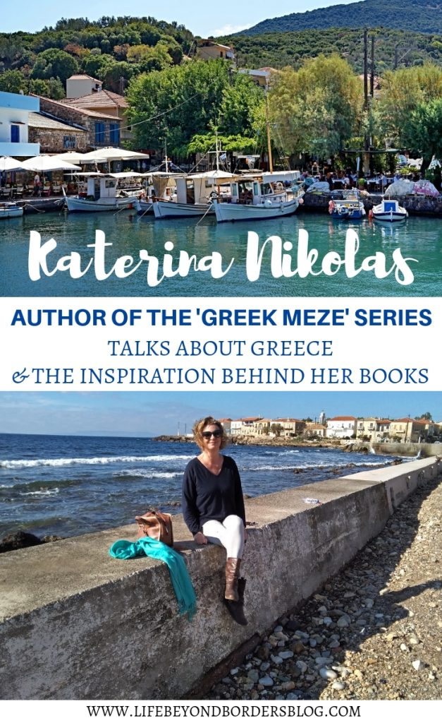 Katerina Nikolas - Author of Greek Meze series talks Greece and the Inspiration behind her Books