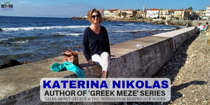 Meet Katerina Nikolas - Author of Greek Meze series