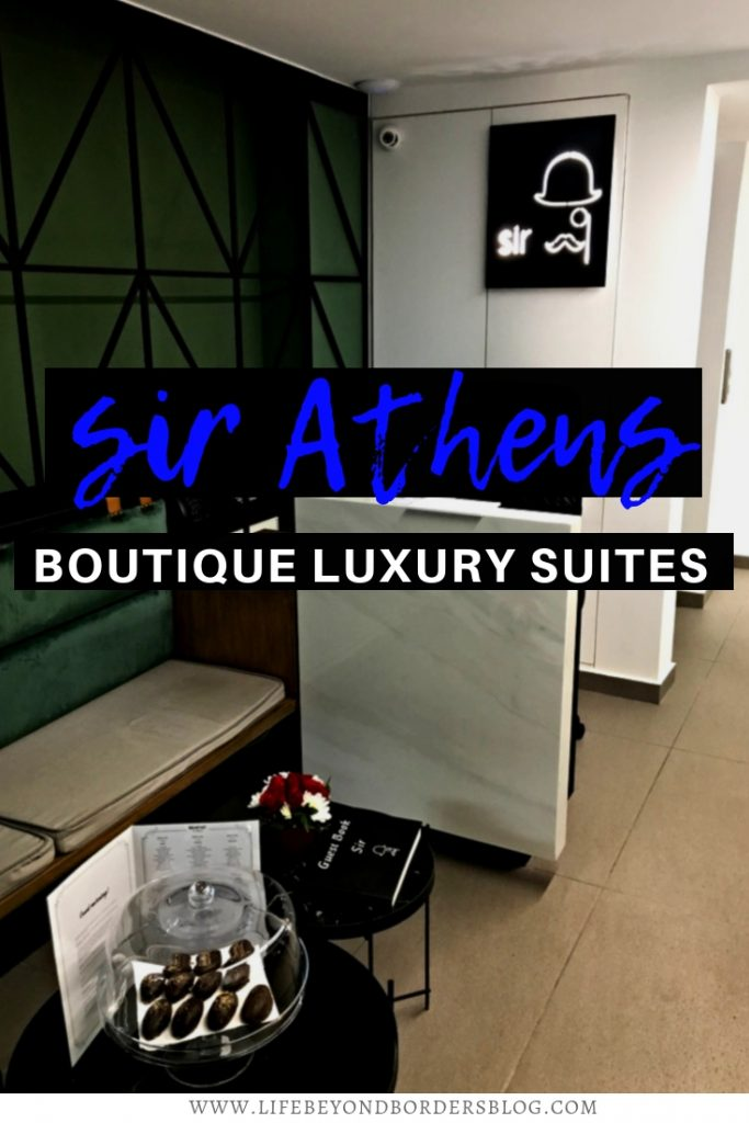 Sir Athens - Boutique Luxury Hotel Athens - Greece. Reception Area
