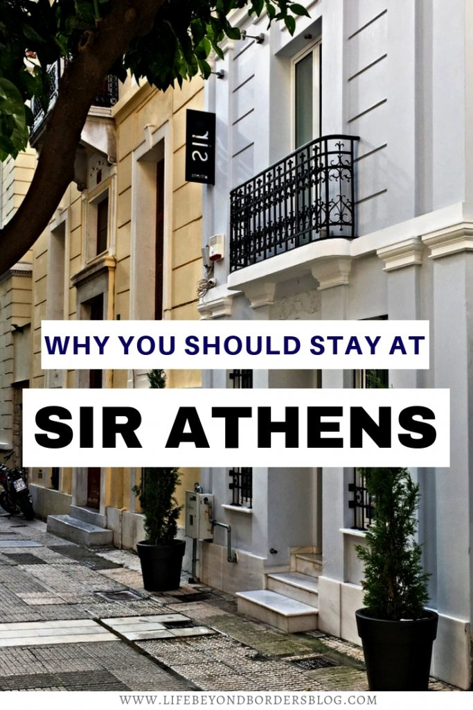 Why you should stay at Sir Athens - Boutique Luxury Hotel Athens Greece