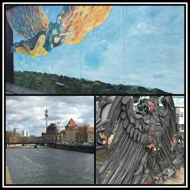 Berlin Eastside Gallery and Berlin General